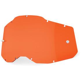 100% Anti-Fog Replacement Lenses Gen2 orange/clear